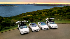 Tesla Tour - City to Manly Surf Half Day Tour