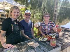 SELF GUIDED E-BIKE TOUR - PEDAL TO PRODUCE SERIES - OYSTERS, BEER AND COASTAL TRAIL- 4 Hour E-Bike Hire with return transfers