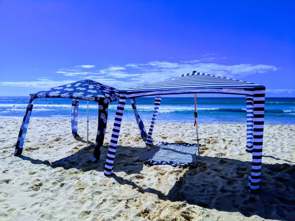 SOUTHBOUND ESCAPES - Narooma - Cool Cabana Beach Shelter Hire