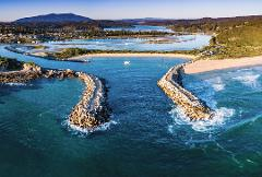All inclusive four day private South Coast Tour departing from Sydney staying in Narooma including all transport in a Tesla