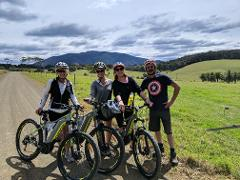 SELF GUIDED E-BIKE TOUR - PEDAL TO PRODUCE SERIES - NAROOMA TO TILBA VALLEY WINERY & ALE HOUSE VIA CENTRAL TILBA AND MYSTERY BAY  4 Hour E-Bike Hire with return transfers