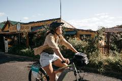 SELF GUIDED E-BIKE TOUR - PEDAL TO PRODUCE SERIES - NAROOMA TO DROMEDARY HOTEL,TILBA with Tilba Cheese and gin tasting  - E-Bike Hire with return transfers