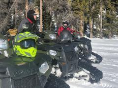 Snow Track Giant Sequoia 4hr ATV Tour