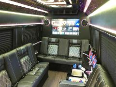 Luxury Mercedes Sprinter Limousine 12-14 passengers