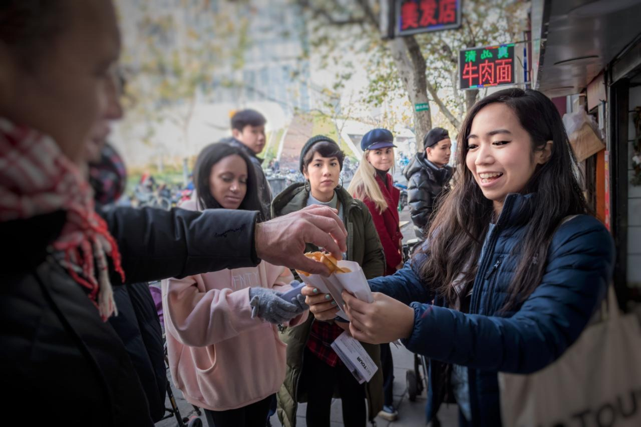Shanghai Street Eats Breakfast