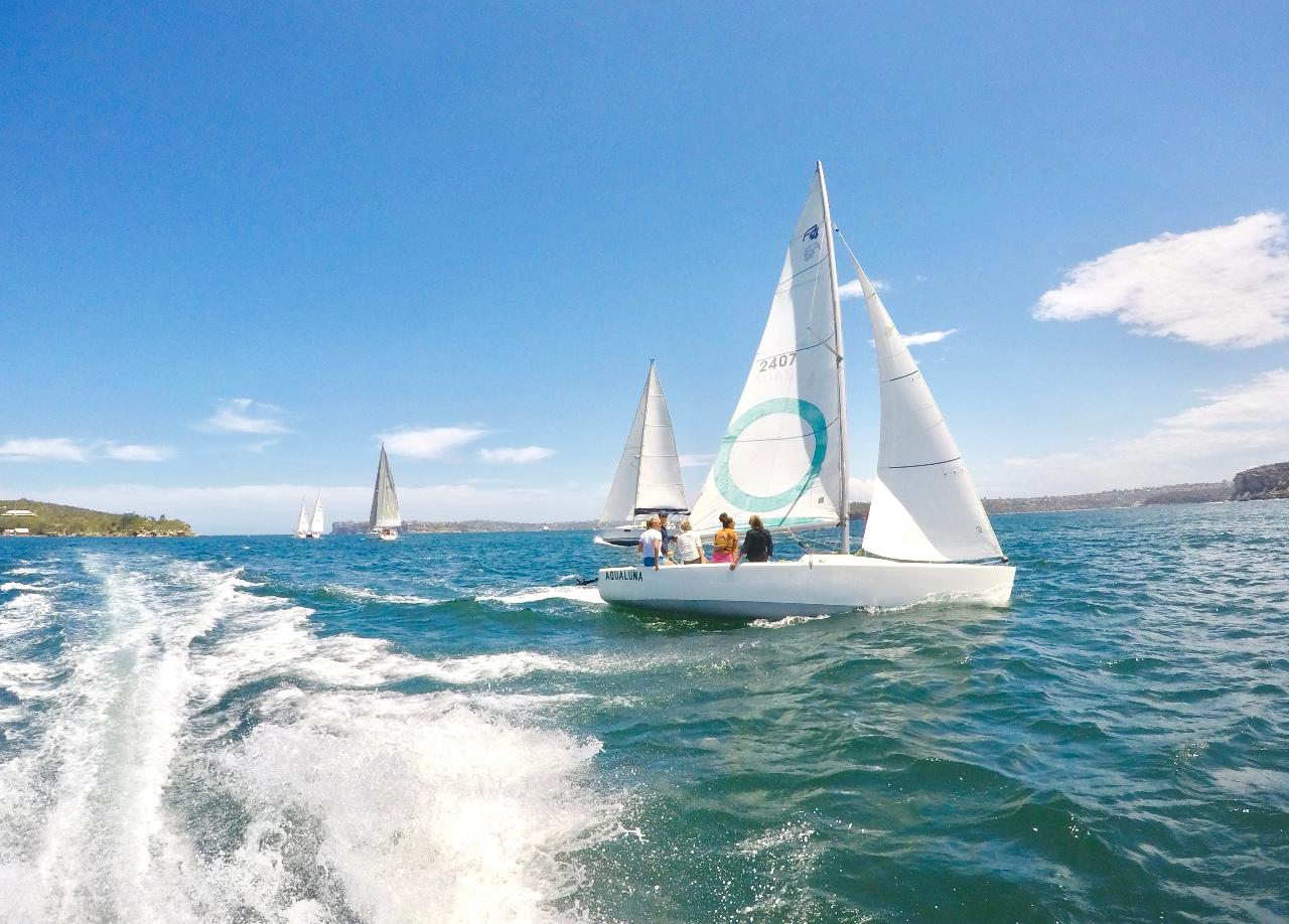 Australian Sailing: Start Crewing / Helming (2 days)