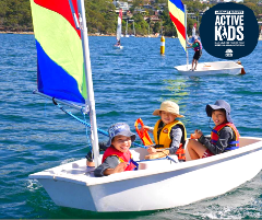 Kids Learn to Sail Course Level 1