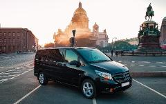 Private Chauffeur half-day rent (6 hours) in St Petersburg