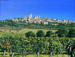 San Gimignano to Siena 4 day walking tour
