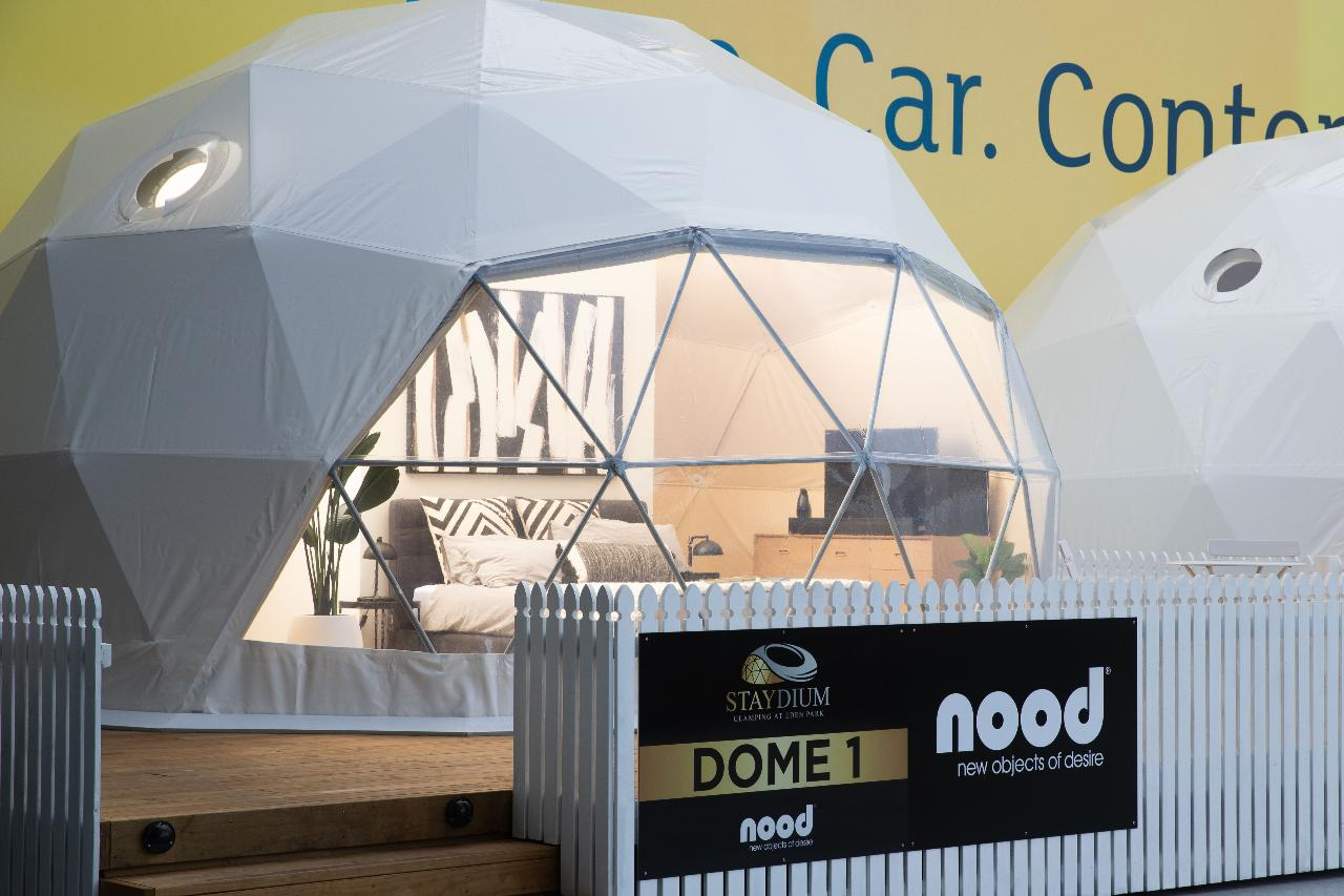 Eden Park Staydium Glamping - Let's Celebrate!