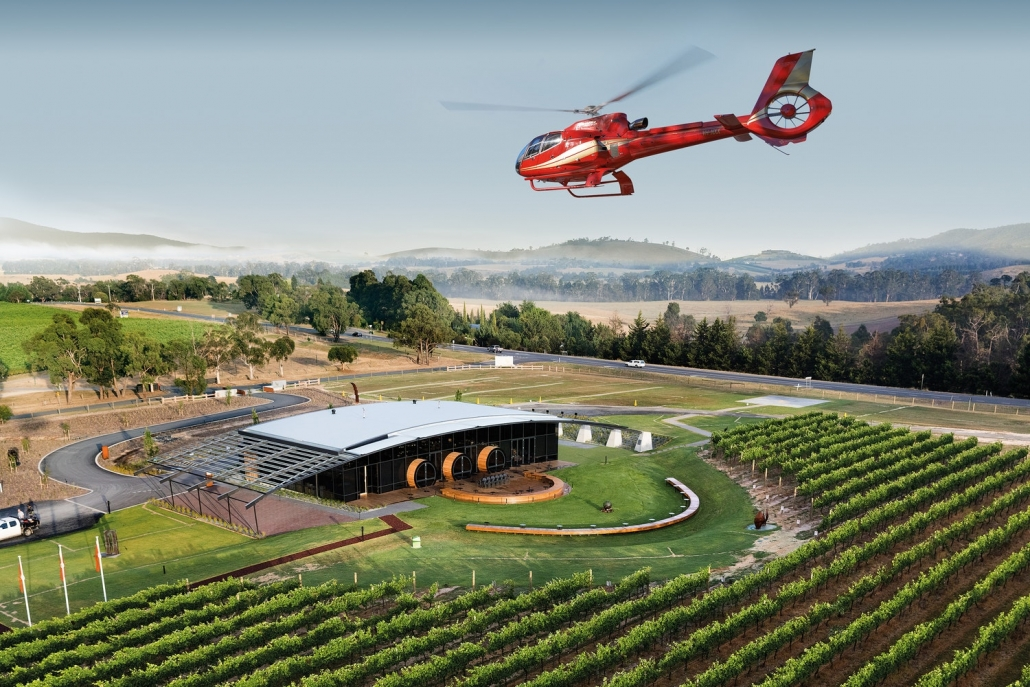 Ultimate Yarra Valley Helicopter Long Lunch