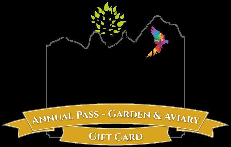 Gift Card E-Voucher - $75 (Annual Pass - Garden & Aviary Entry)