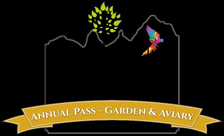 Annual Pass - Garden & Aviary Entry