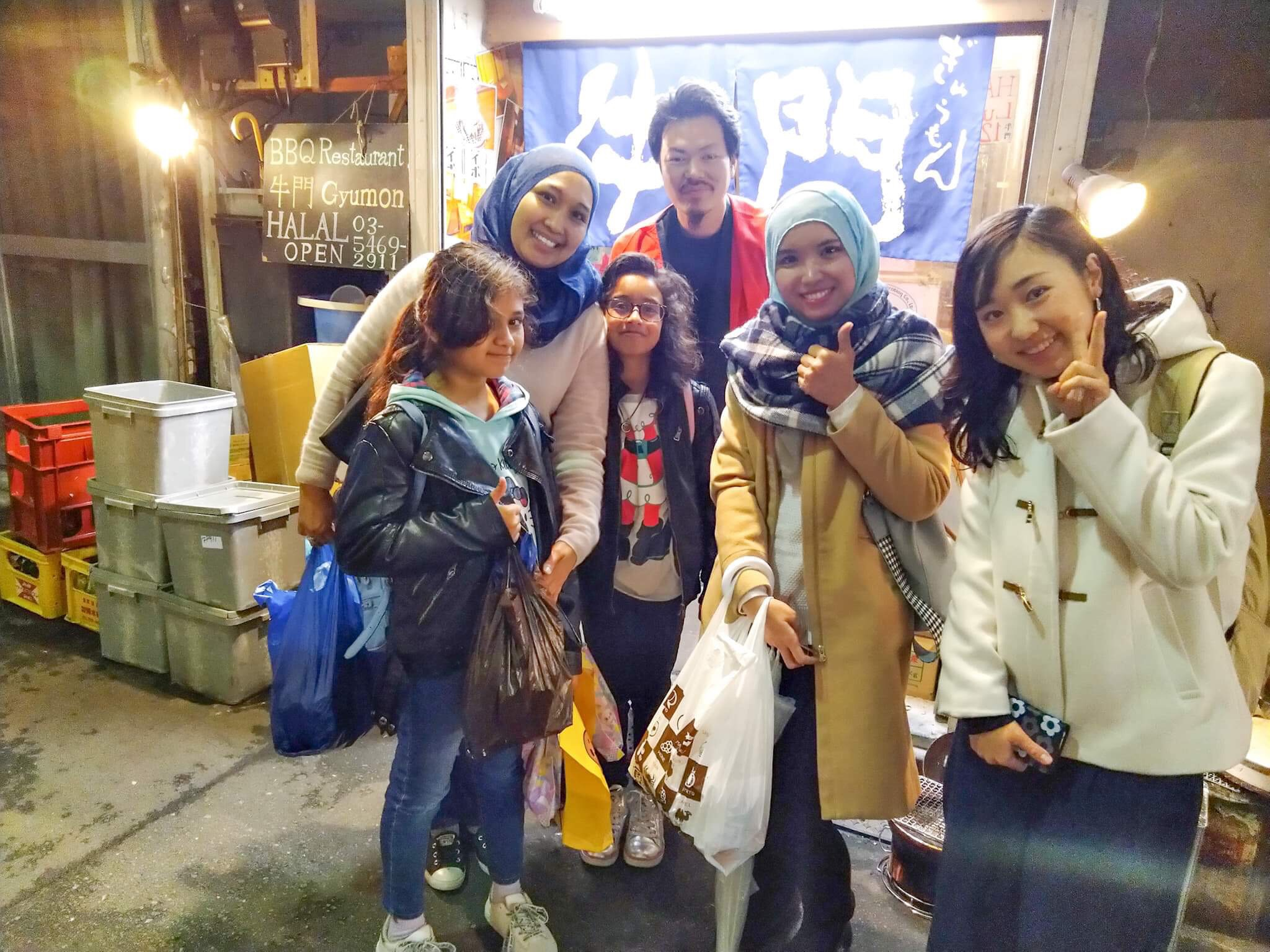 1-Day Shibuya Halal Food Tour