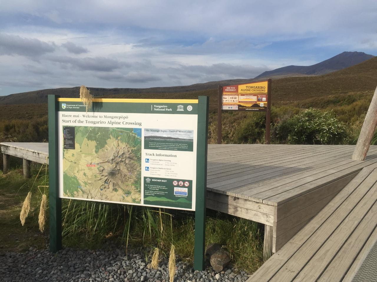 Mangatepopo - To/From Whakapapa Village