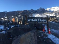 Whakapapa Snow Shuttle from National Park Village Park n Ride and Accommodation locally