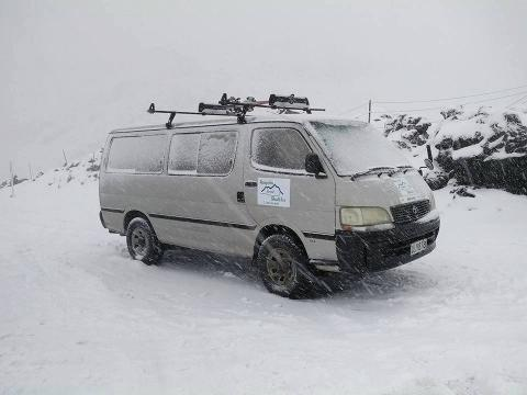 National Park Village Accomodation Direct Pick up Snow Shuttle Service