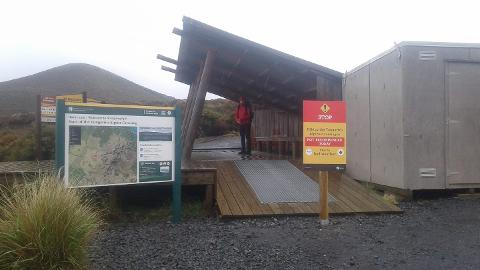 National Park/Owhango Mangatepopo return back to Mangatepopo