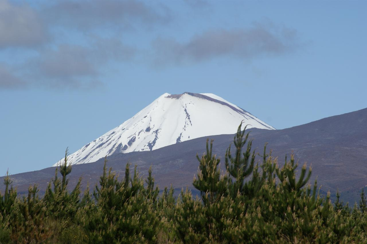 Tongariro Alpine Crossing / Owhango Return
