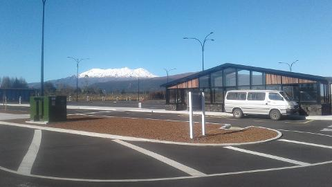 National Park Village Park N Ride Snow Shuttle to Whakapapa Ski Area (SKYWAKA)