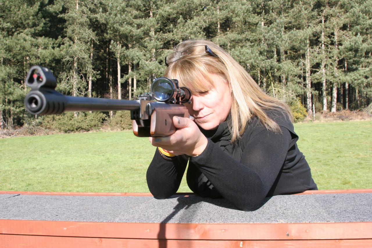 .22 Air Rifle Shooting