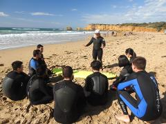 Learn to Surf and Coastal Craft Brewery Visit