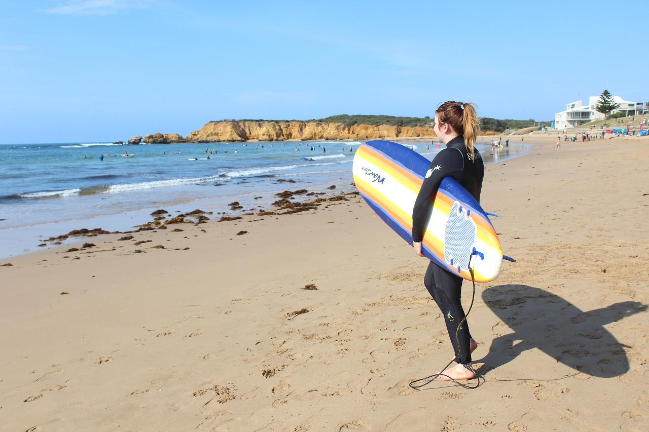 Surfboard and Wetsuit Rental with Car ties and roof racks Included Melbourne