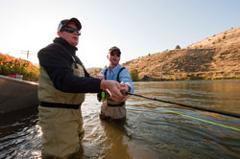 Beginning Fly Fishing, Deschutes River