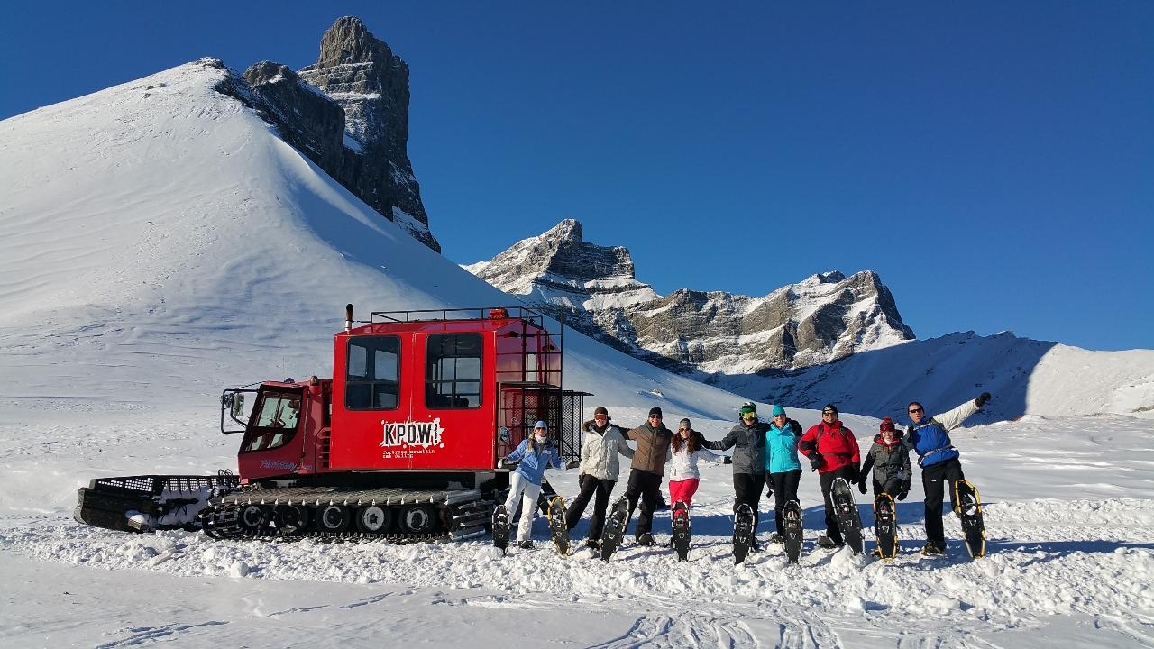 Snowcat Snowshoe Adventure