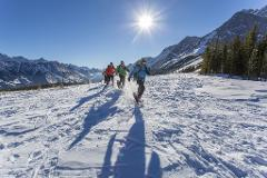 5 days/4 nights Canadian Rockies Snowshoe Adventure
