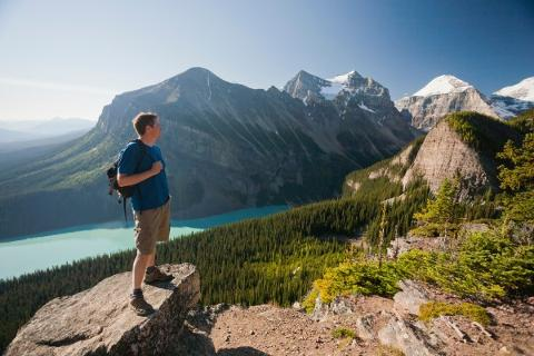 Lake Agnes in Lake Louise - Tuesday - Moderate
