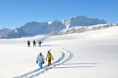 6 day/5 nights Canadian Rockies Backcountry Snowshoe Trip
