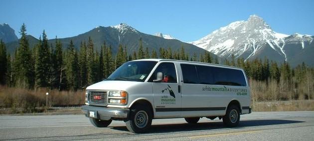 Mount Assiniboine Shuttle - Mt Shark>Canmore>Banff>Sunshine Village