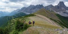 Fortress Backcountry Ridgeline Hiking Adventure - Moderate