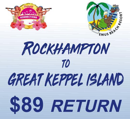 Rockhampton to Great Keppel Island Package