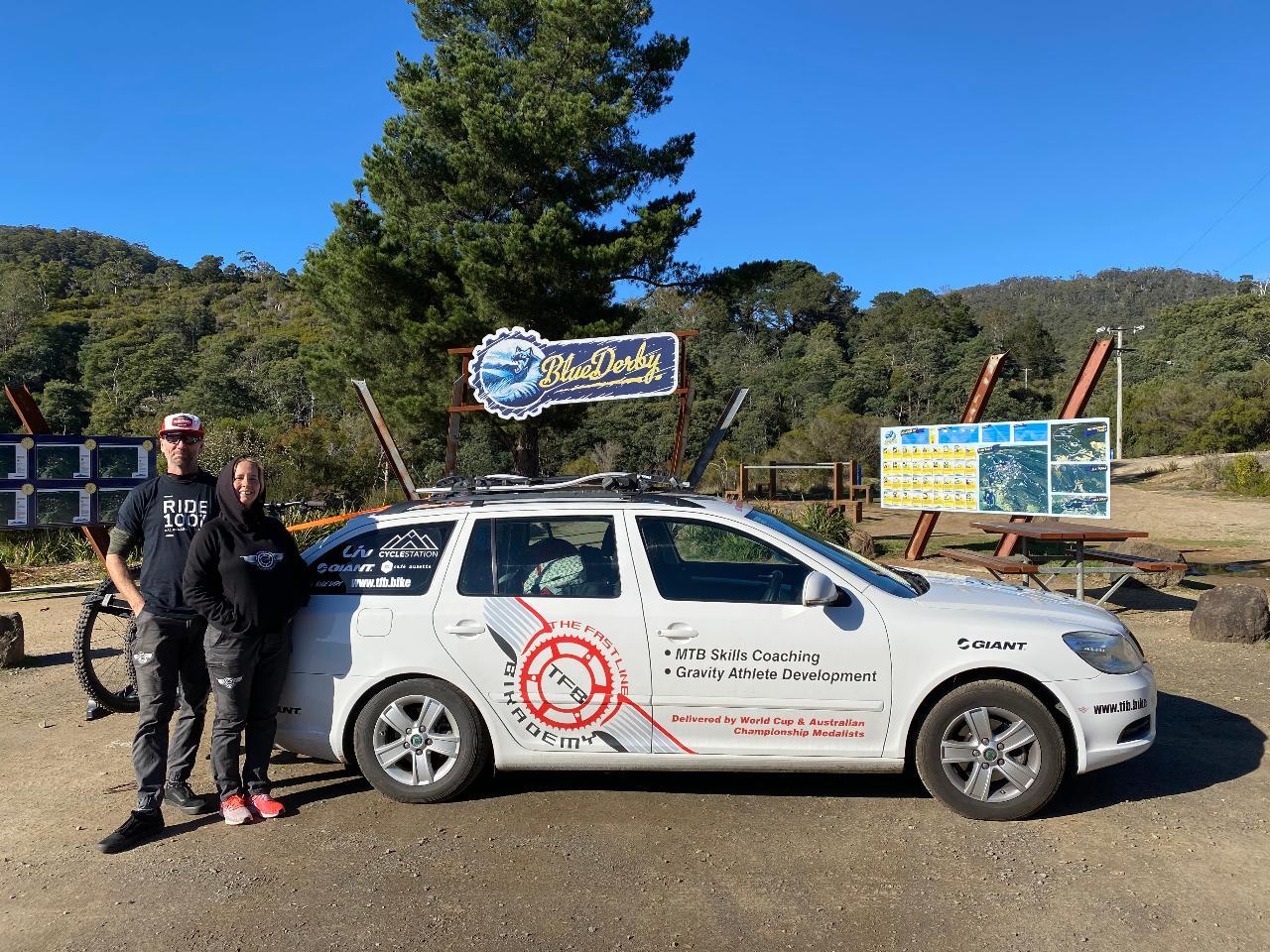 Tasmanian MTB program, 3 x full day, including shuttles