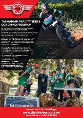 Tasmanian gravity skills coaching program, 3 x full day, including shuttles