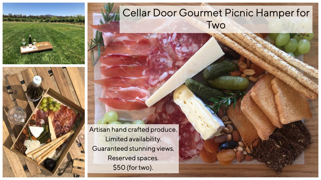 Nashdale Lane Wines Cellar Door Gourmet Picnic Hamper for Two