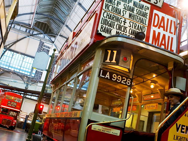 Visit the London Transport Museum & See 30+ London Top Sights