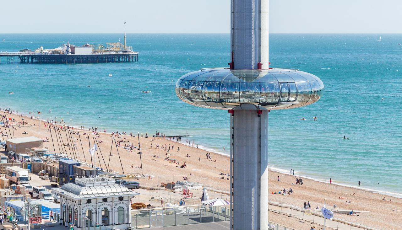 Go Up High On The British Airways i360 & See 30+ London Top Sights