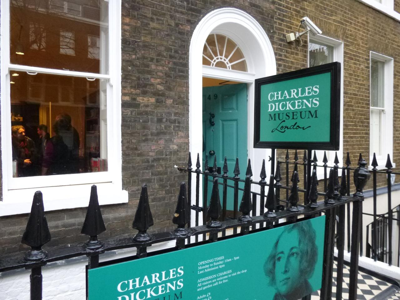 Charles Dickens Museum Entrance Ticket