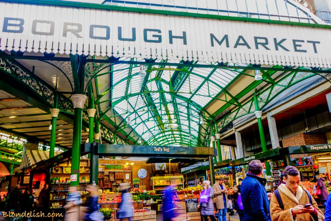 Famous London Food Markets!