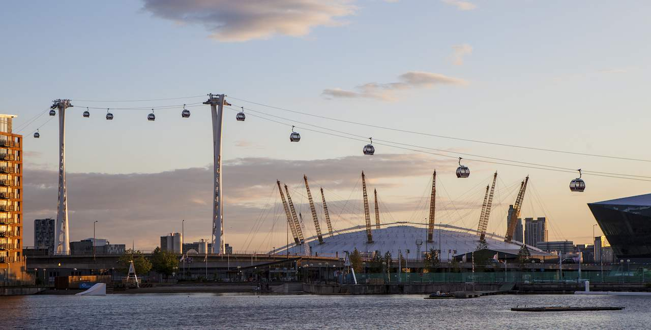 Hop On The Emirates Air line Cable Car & See 30+ London Top Sights