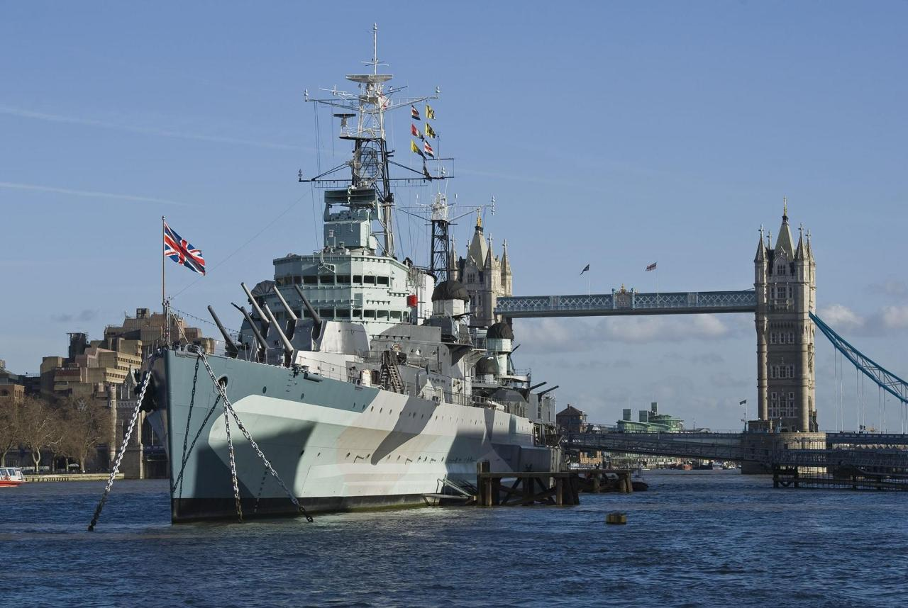 Go on-board HMS Belfast & See 30+ London top sights