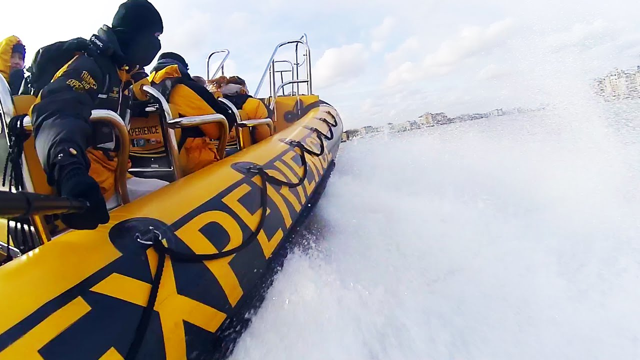 Race Down The Thames On The Thames Rib & See 30+ London Top Sights