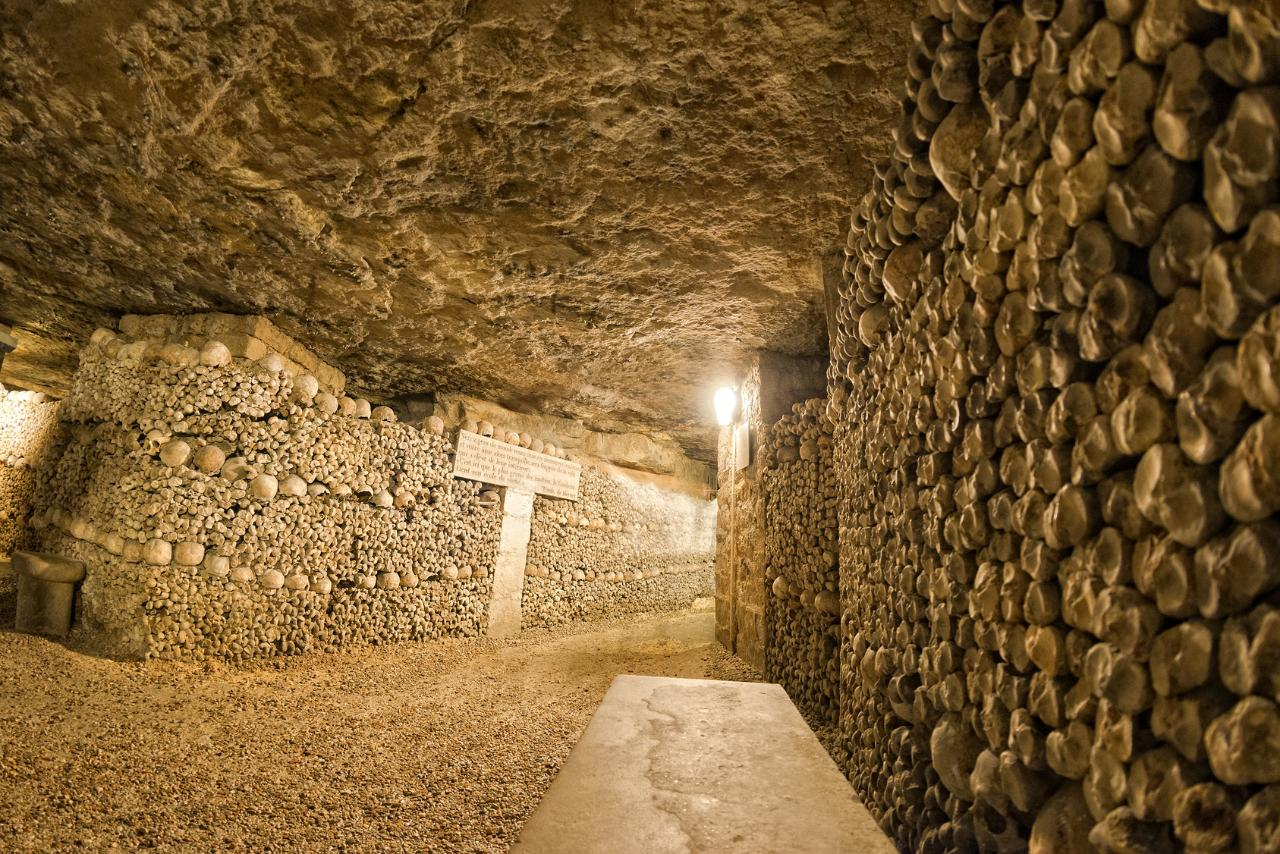 Skip The Line Guided Tour Catacombs Paris
