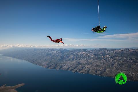 Skydiving Zadar - Tandem Jump