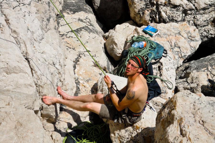 Free climbing Paklenica