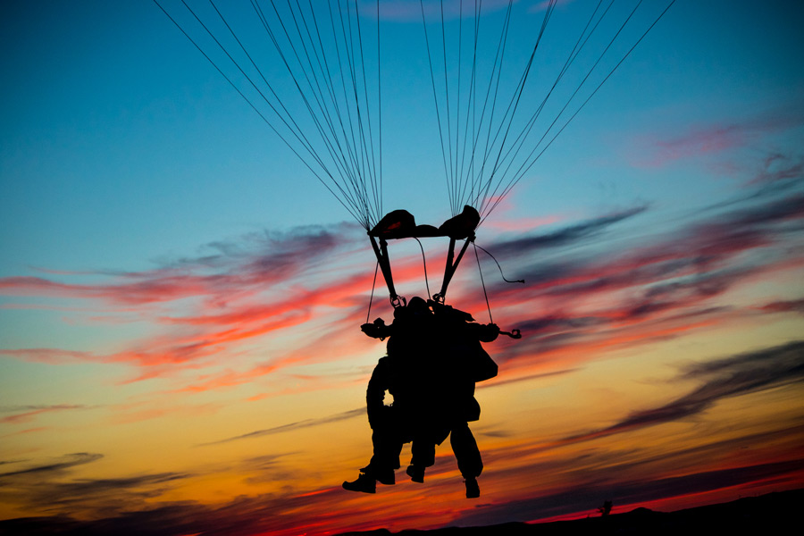Sunset Tandem Skydiving Zadar