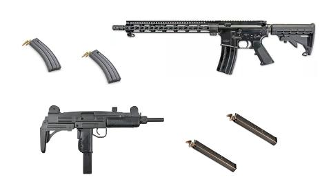 Two Gun Full-Auto Shooting package